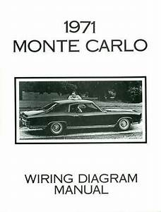 1971 Chevrolet Monte Carlo Wiring Diagram Manual