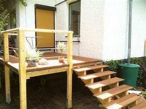 Außentreppe Holz Selber Bauen : die besten 17 ideen zu erh hte terrasse auf pinterest ~ Lizthompson.info Haus und Dekorationen