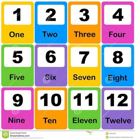 9 Best Images Of Kindergarten Printable Numbers Flash Cards  Free Printable Preschool Number