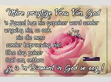 Christelike Boodskappies Môre pragtige vrou van God