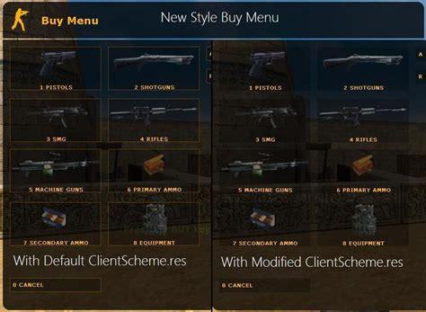 New Style Buy Menu