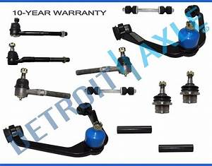 Brand New 12pc Complete Front Suspension Kit For Expedition F