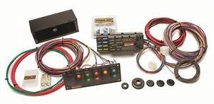 Painless 10 Circuit Race Only Wire Harness With 6 Switch Control Panel Pw50005