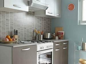 une cuisine de 18m2 pour toute la famille leroy merlin With amenager une petite cuisine