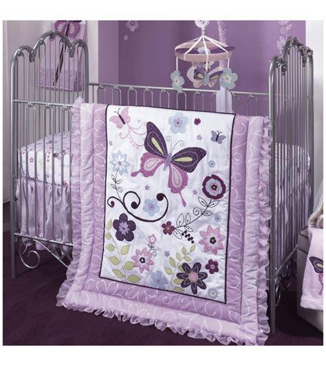 butterfly crib bedding lambs butterfly 5 crib bedding set