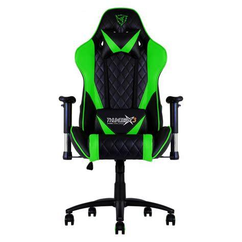 Gaming Chair Ebay Au by Thunderx3 Tgc15 Series Gaming Chair Black Green Ebay