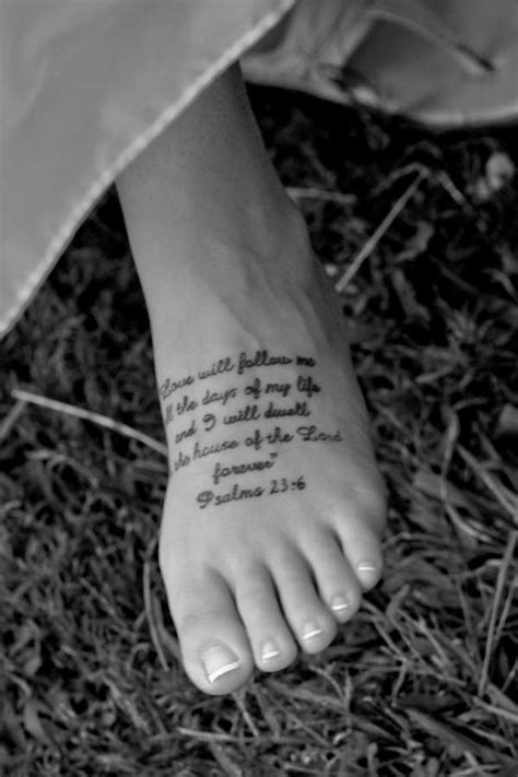 scripture tattoo
