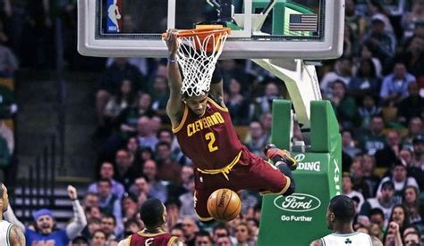 kyrie irving  rare dunk   quarter