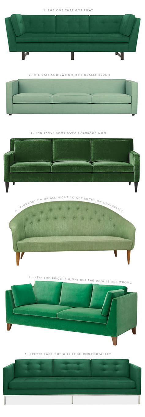 Green Sofa by The Great Green Sofa Hunt Of 2014