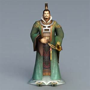 Chinese, Emperor, Rig, 3d, Model, 3ds, Max, Files, Free, Download