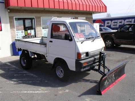 Daihatsu 4x4 Mini Truck For Sale by Daihatsu Mini Cab Truck W Plow Ohio Pirate4x4 4x4
