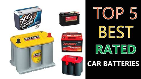 rated car batteries youtube