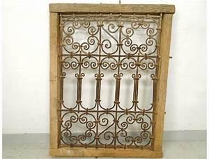 Grille Fenetre Fer Forgé : moroccan iron window grill wrought morocco maghreb atlas ~ Dailycaller-alerts.com Idées de Décoration
