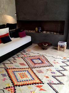 tapis vintage une decision toujours a la mode With tapis champ de fleurs avec paola navone canape
