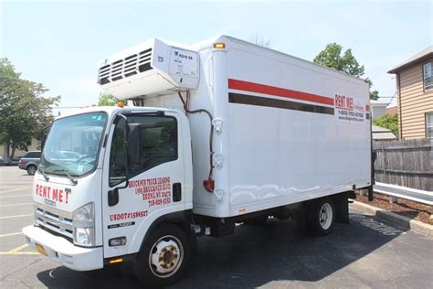 Truck Refrigerator by New York Refrigerated Truck Rental Reliable Reefer Trucks