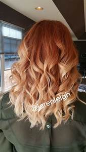 Ombré Hair Auburn : 48 copper hair color for auburn ombre brown amber balayage and blonde hairstyles nails hair ~ Dode.kayakingforconservation.com Idées de Décoration