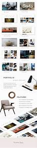 Entre an elegant interior design and decor wordpress for Interior decor wordpress theme