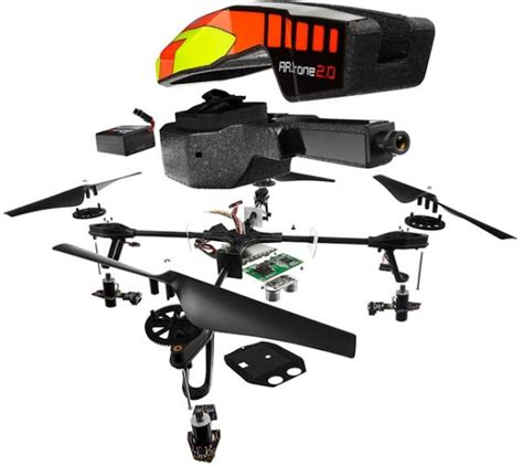 materiel test de lar drone  de parrot power edition zone high tech