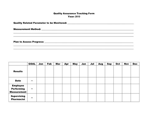 Quality Improvement Report Template by 16 Best Images Of Quality Assurance Worksheet Nursing