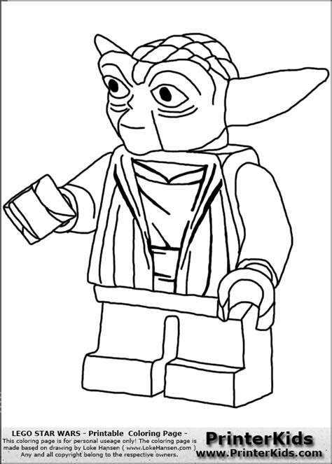 sta colora lego wars coloring pages free lego wars