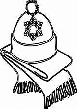 Hat Winter Coloring Scarf Adult Printable Getcolorings Getdrawings Cardigan Drawing Colorings sketch template
