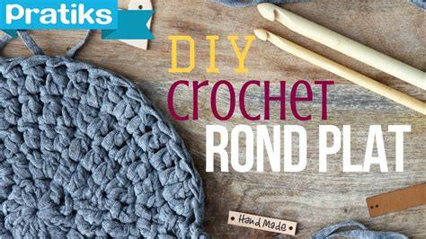 crochet comment faire  rond plat youtube