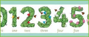 print number line floral display numbers free early years primary teaching resources eyfs ks1
