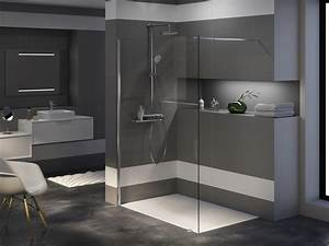 Receveur Salle De Bain : receveur de douche rectangle woodstone allibert belgique ~ Melissatoandfro.com Idées de Décoration