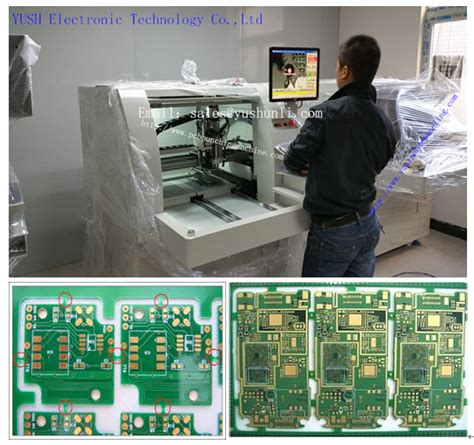 Pcb Depaneling Router Machine For