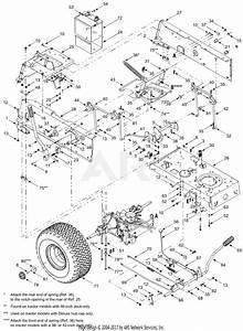 Mtd 13ap698g731  2004  Parts Diagram For Frame  Controls