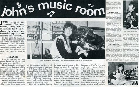 Beatles Newspaper Clippings