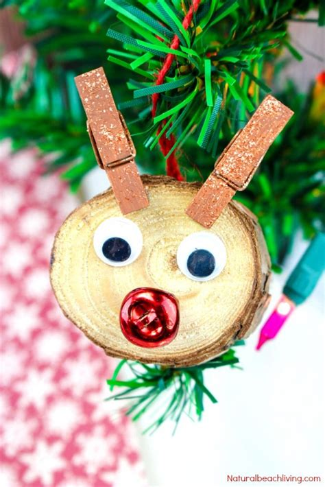 easy   rudolph christmas ornaments kids  love