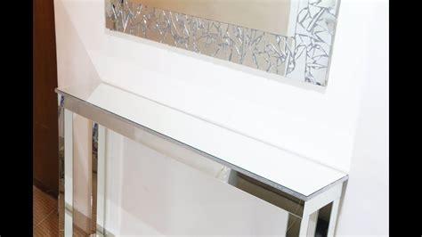 diy mirrored console table diy room decor ideas youtube