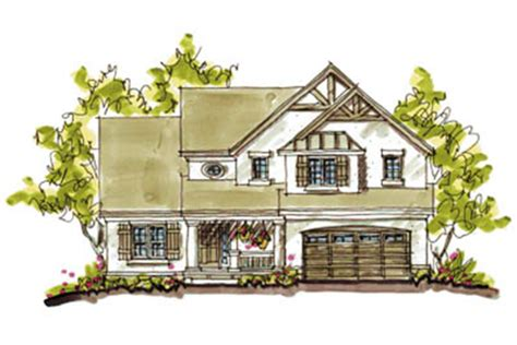 Craftsman Style House Plan 4 Beds 2 5 Baths 2265 Sq/Ft