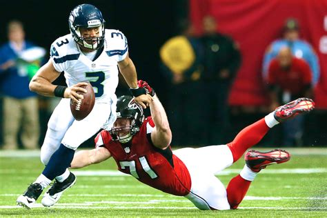 seattle seahawks  atlanta falcons  score
