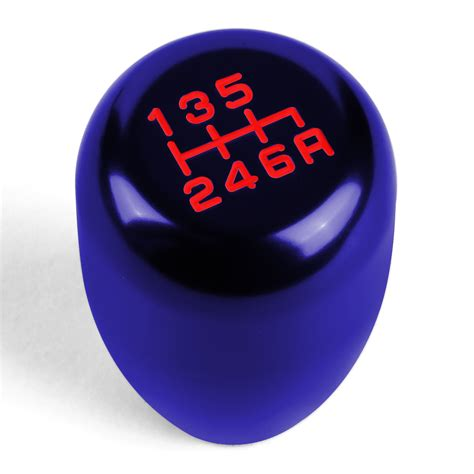 10x1 5 shift knob universal 6 speed mt 10x1 5 aluminum racing shift knob blue