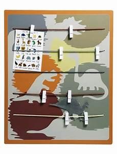 Tableau Pele Mele Photo : tableau pele mele enfant dinodingo vertbaudet acheter ce produit au meilleur prix ~ Teatrodelosmanantiales.com Idées de Décoration
