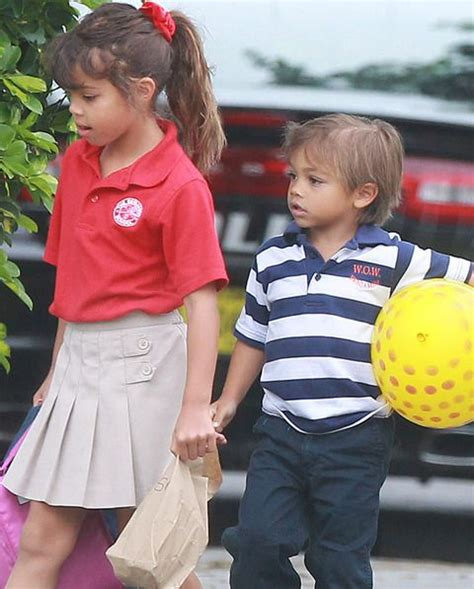 OFF TO SCHOOL. HOW CUTE | Tiger woods, Tiger kids, Tiger ...