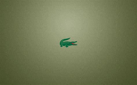 lacoste logo crocodile hd wallpaper