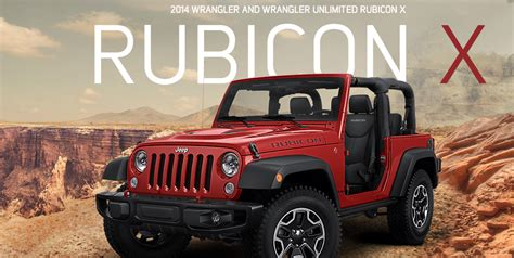 2014 Jeep Wrangler Rubicon X Special Edition