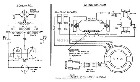 briggs and stratton power products 9569 0 3zc12b 5 000 watt dayton parts diagram for
