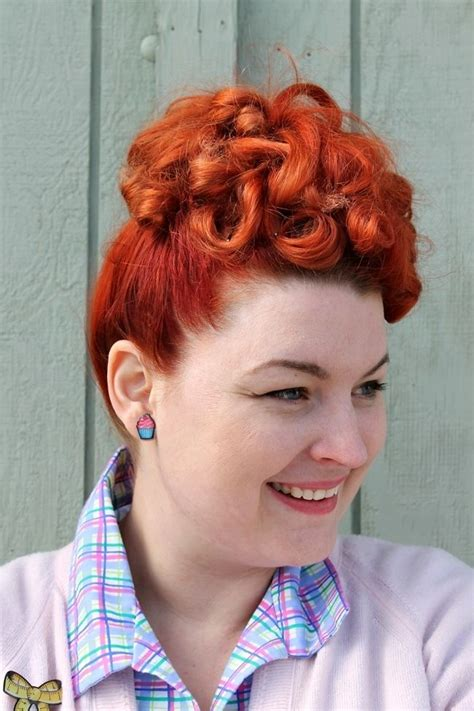 Easy 1950s Hairstyles by Chic 1940s Hair Poodle Hair 1940s Hairstyles