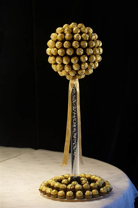 diy ferrero rocher tree ferrero rocher tree diy projects to try bars flower basket and raffaello