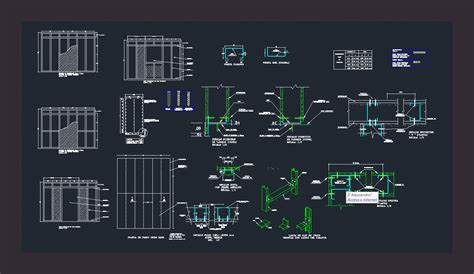 detail drywall dwg detail for autocad designs cad