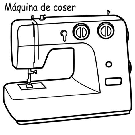 Kleurplaat Machines Landbouw by Sewing Machine Drawing Zoeken Naaien Dibujos