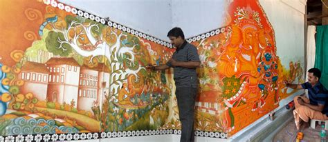 mural artists www anilmural kerala murals website dedicated to