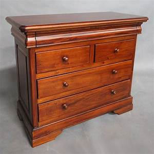 Solid, Mahogany, Wood, Chest, Of, Drawers, Bedroom, Furniture, Antique, Style, Pre