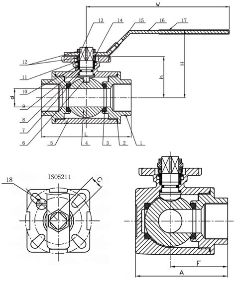 3 Way Valve Diagram by 3 Way L Port Bsp Stainless Steel Valve Metal
