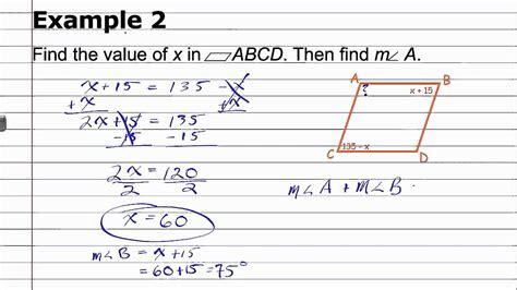worksheet properties  parallelograms worksheet grass