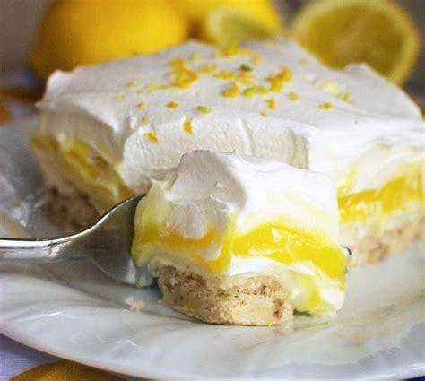 dessert d ete rapide 30 magnifiques desserts au citron que vous aurez envie de r 233 aliser chez vous les cookies au